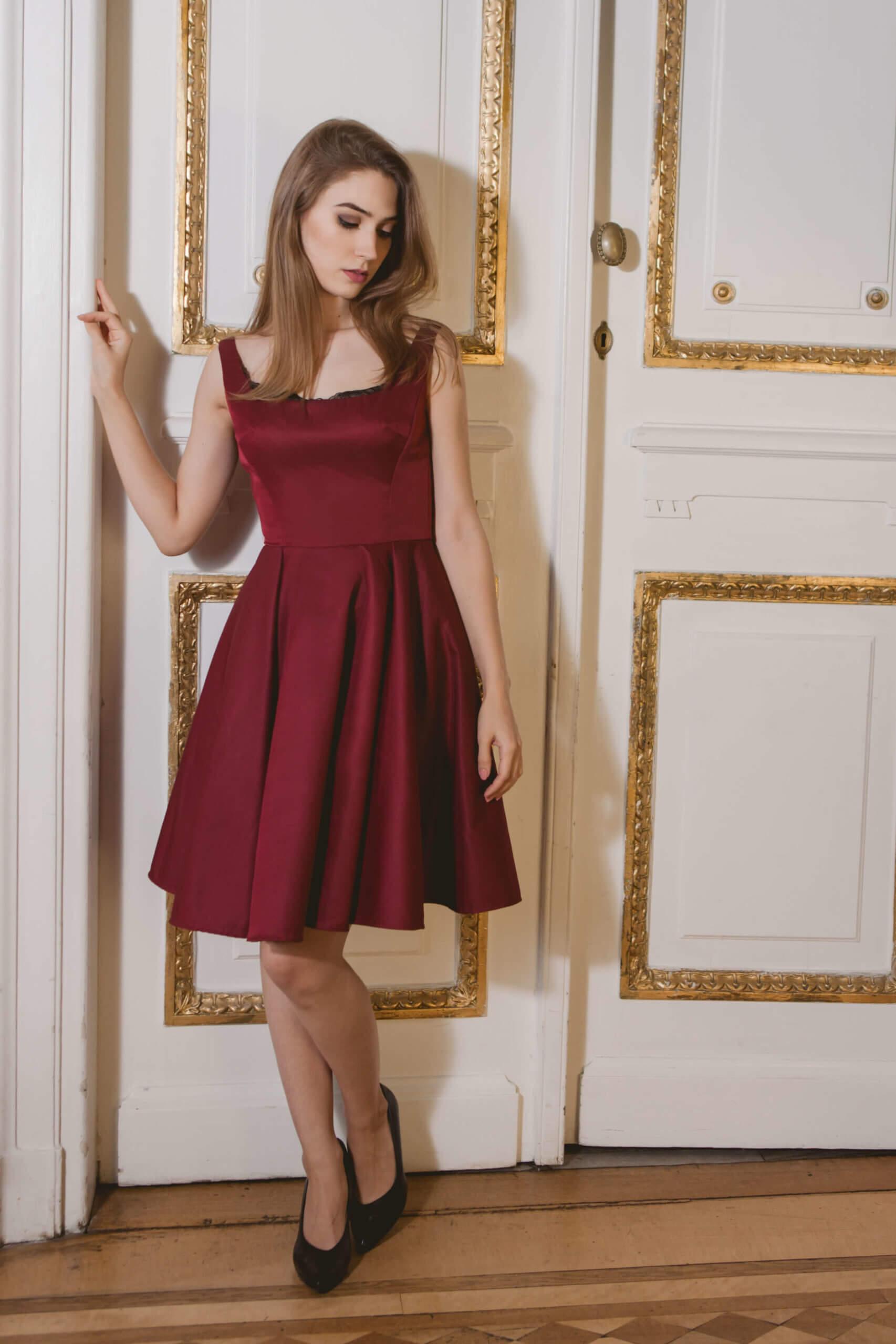 makijaż do czerwonej sukienki warszawa