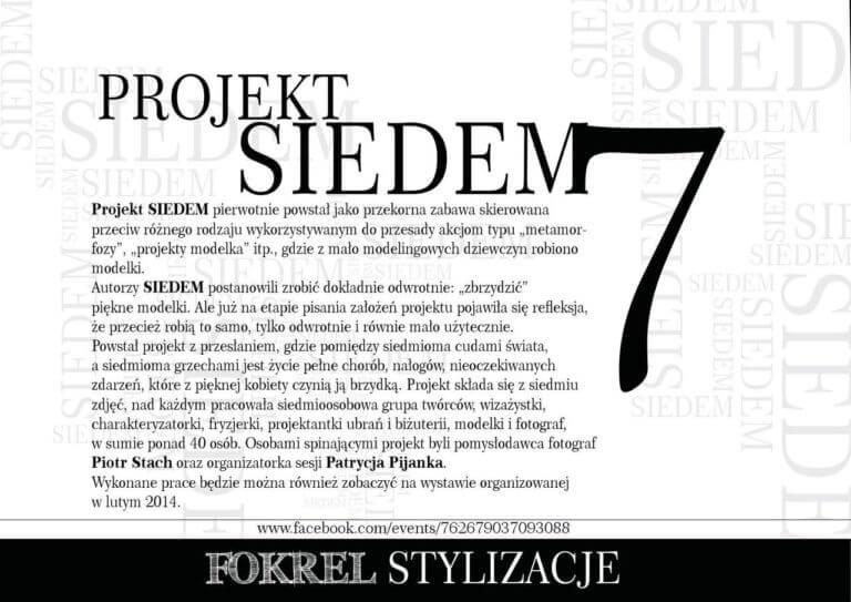 makijaż projekt siedem