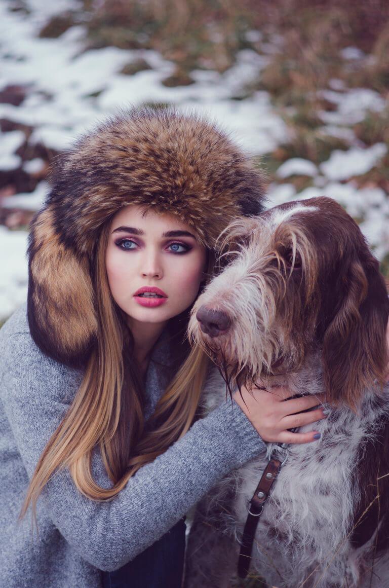Fotograf: Aleksander Wachelka Modelka: Olga Sokolova Makijaż: Agata Pustoła