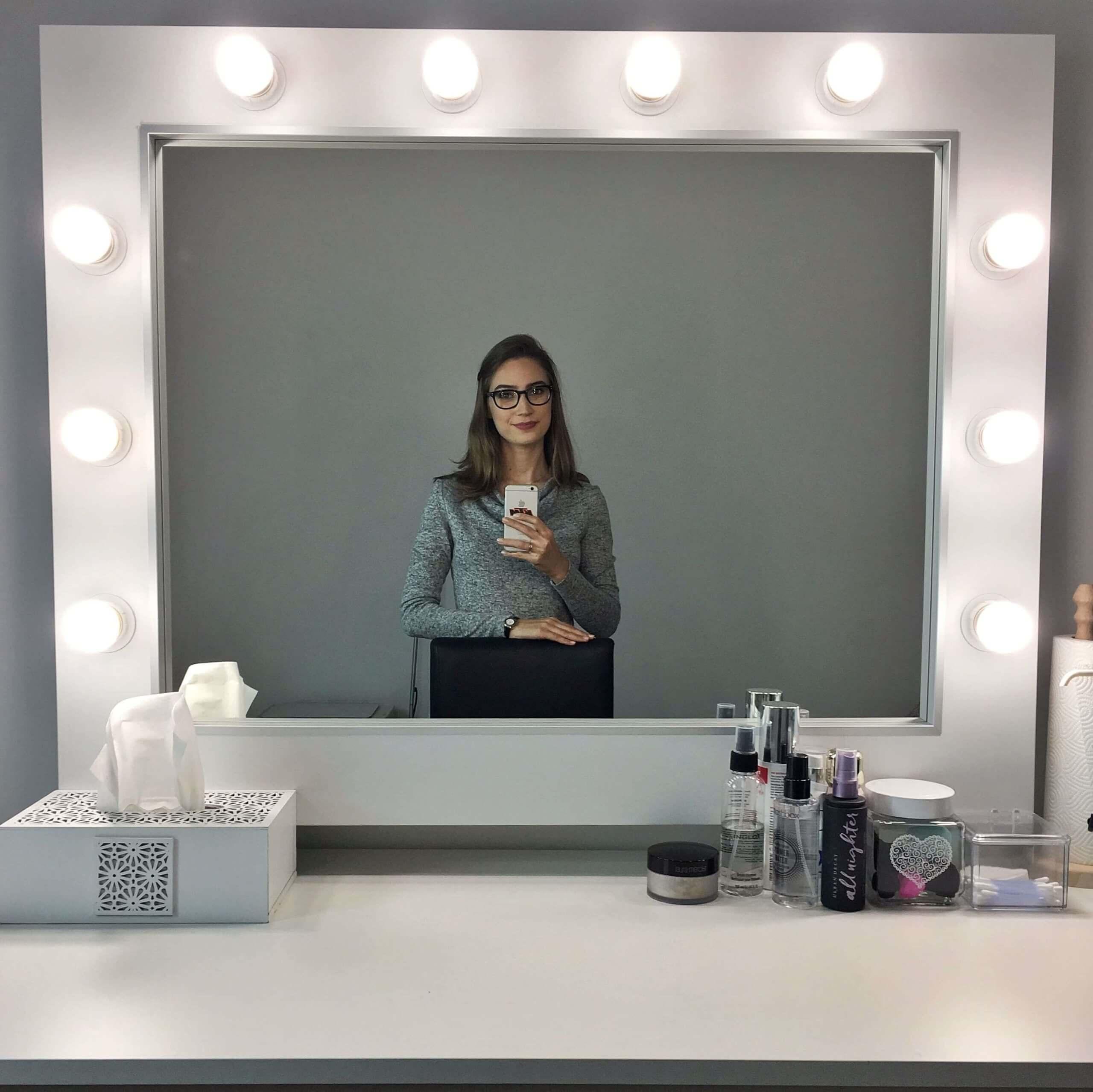 stanowisko makijażowe Agata Pustoła