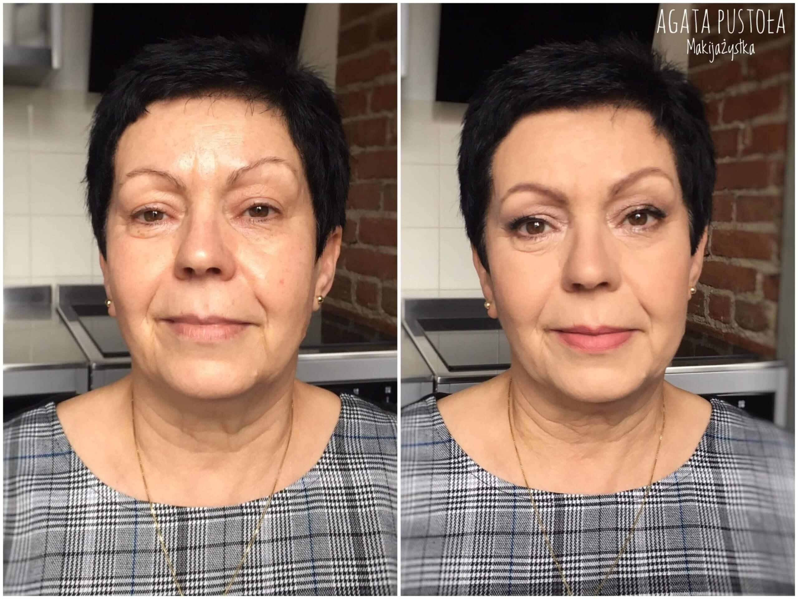 metamorfoza makijaż kobiety dojrzałej warszawa