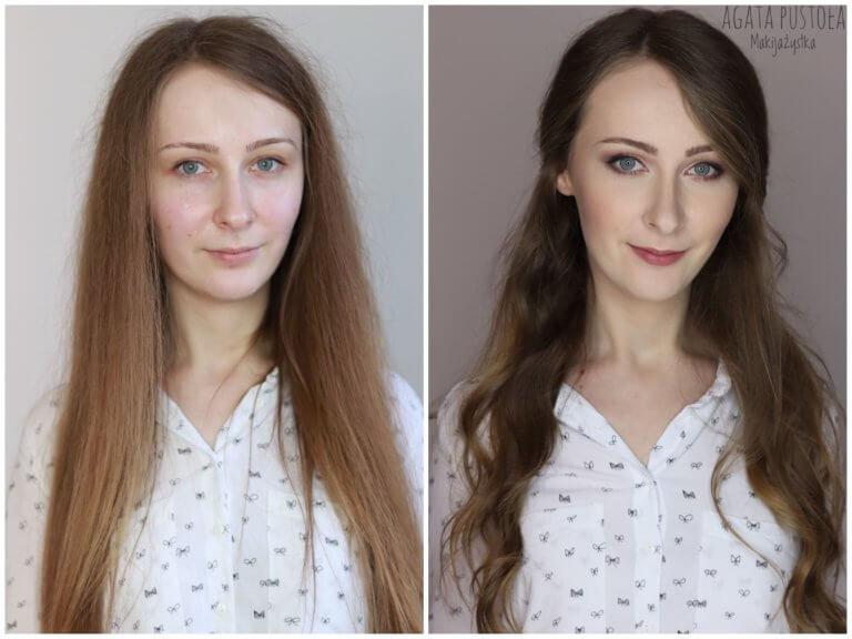 makijaż i loki warszawa metamorfoza