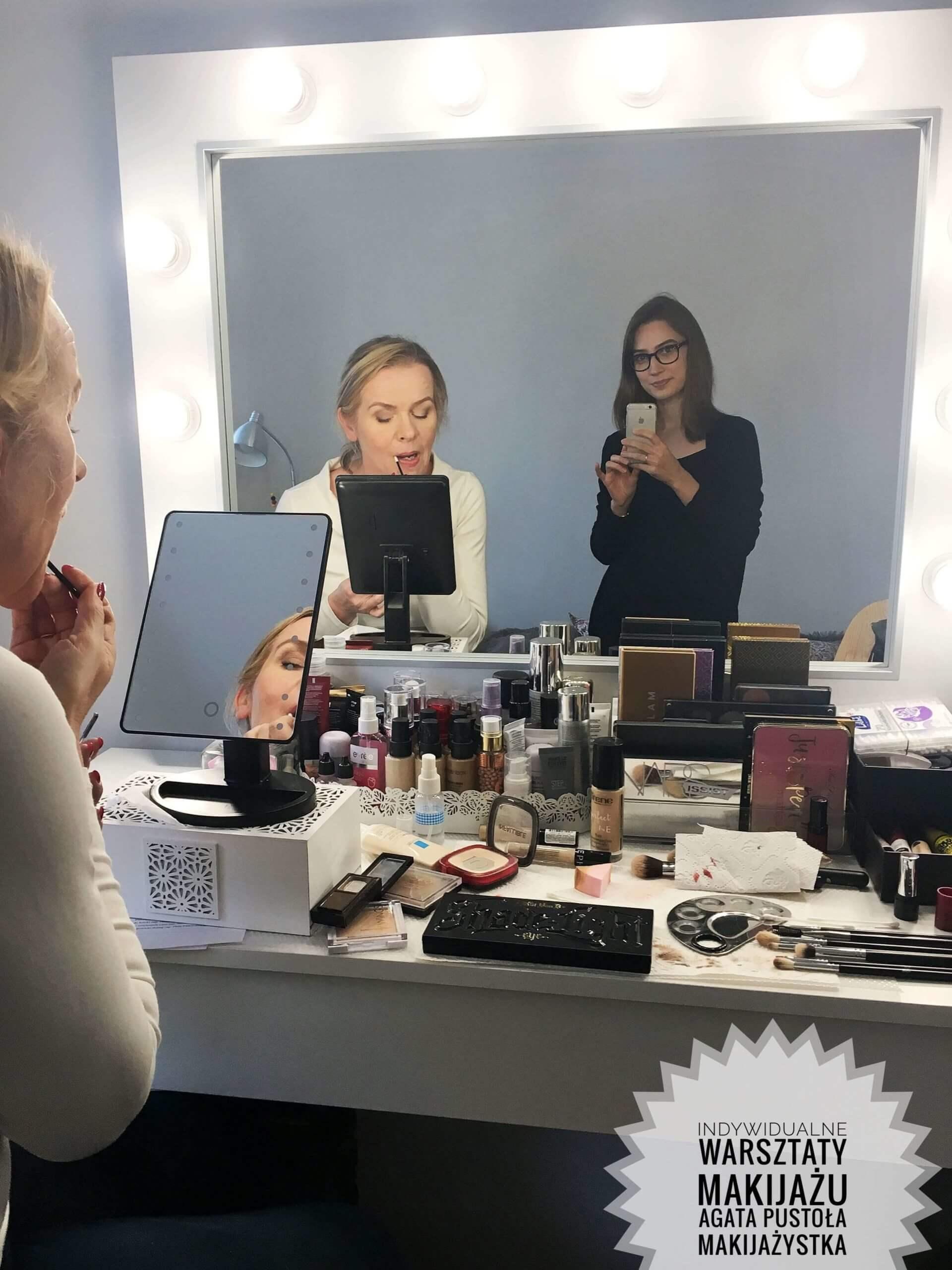 warsztaty makijażu dziennego kobiety dojrzałej w warszawie