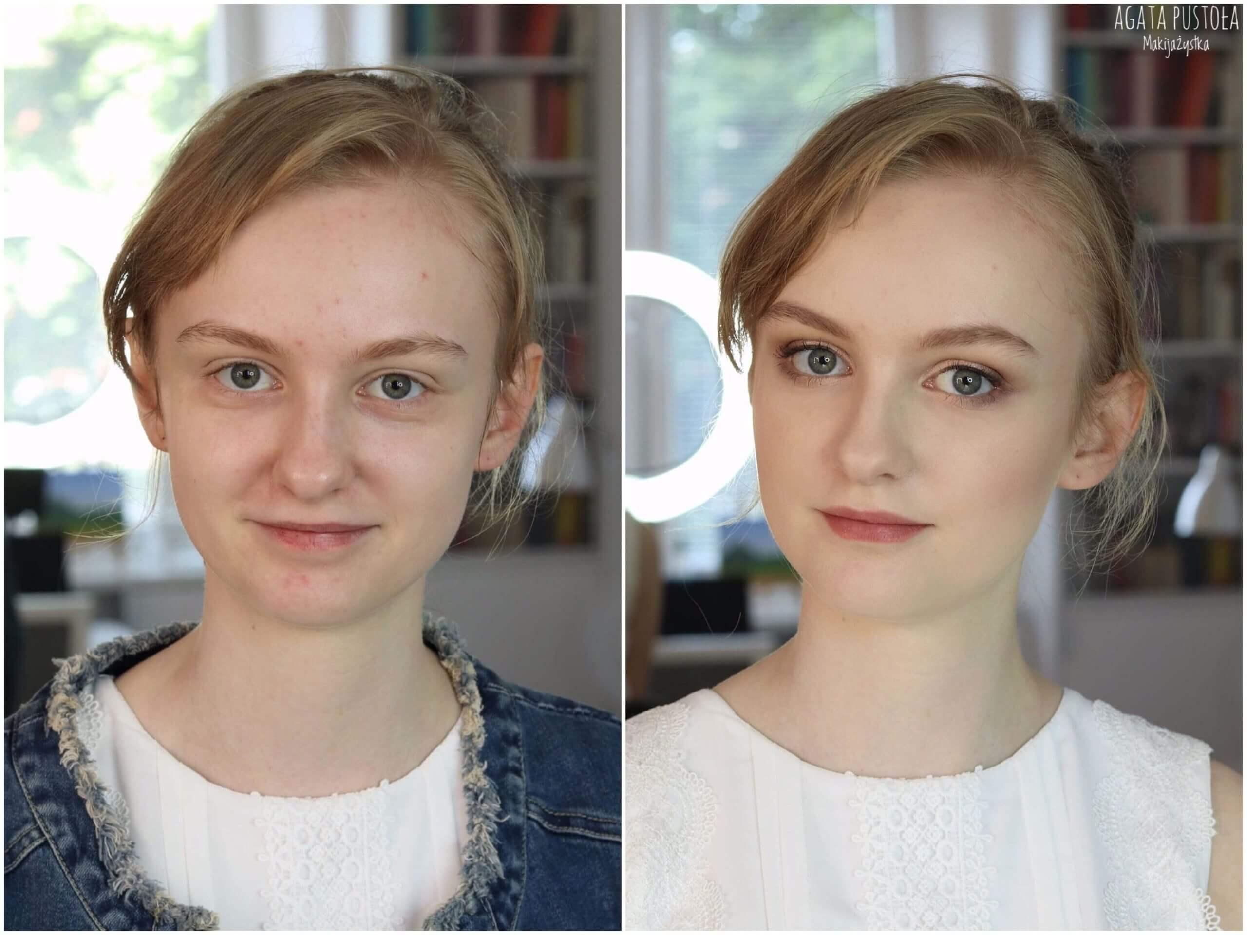 Agata Pustoła Makijażystka Warszawa makijaż nastolatki delikatny