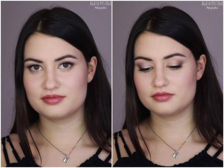 makijaż okolicznościowy Warszawa dla brunetki