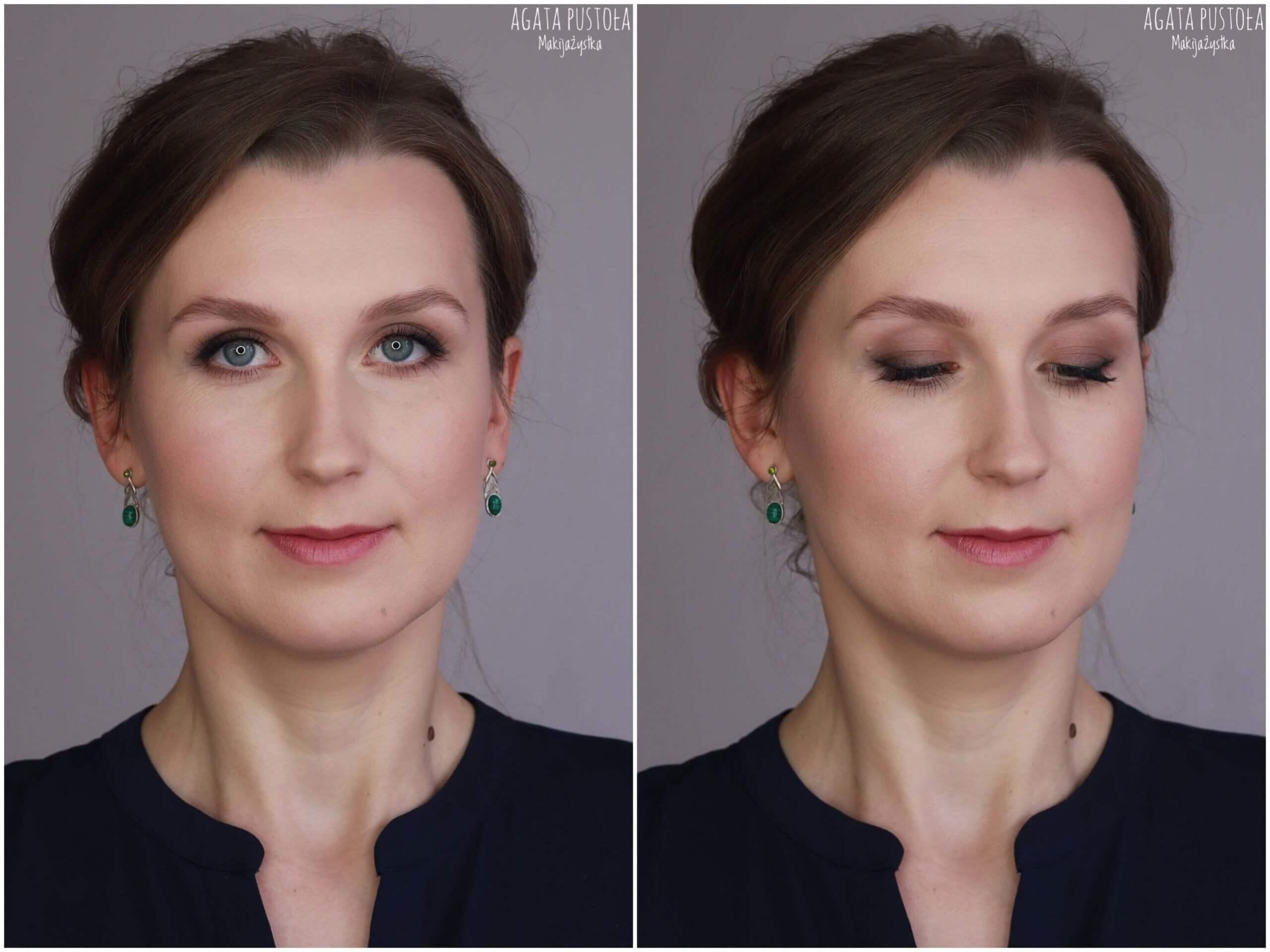 makijaż okolicznościowy Warszawa smokey eye