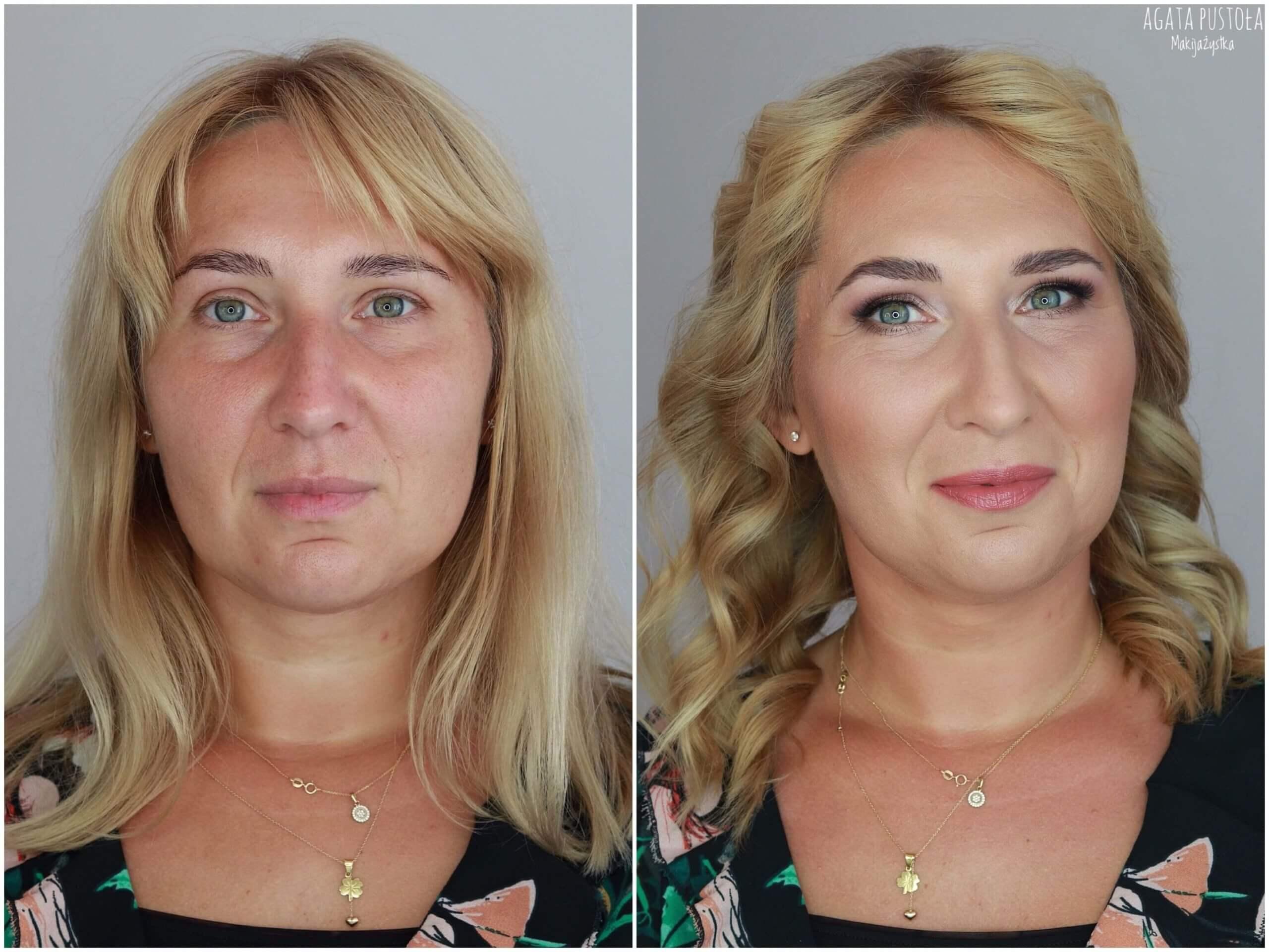 makijaż okolicznościowy metamorfoza makijaż i włosy Warszawa