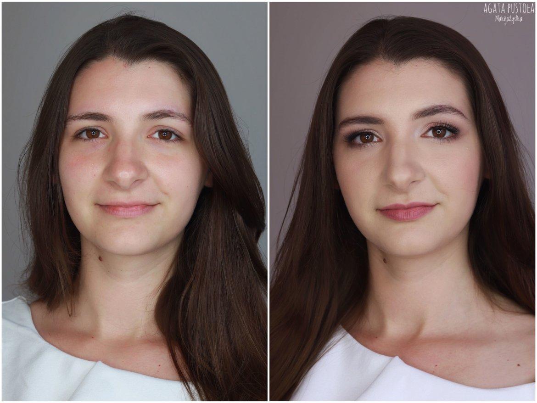 makijaż ślubny dla brunetki Warszawa