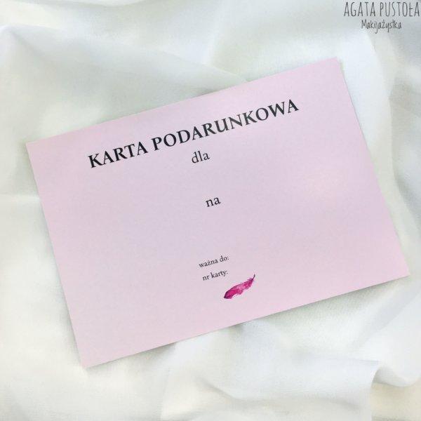 prezent warszawa karta podarunkowa makijazystka