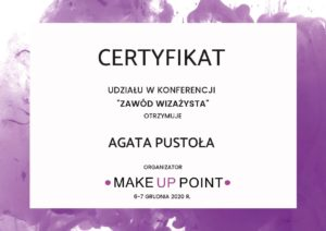 certyfikat konferencja mup