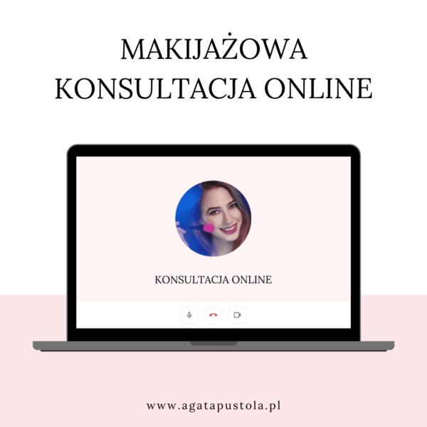makijaz konsultacja online z makijazystka