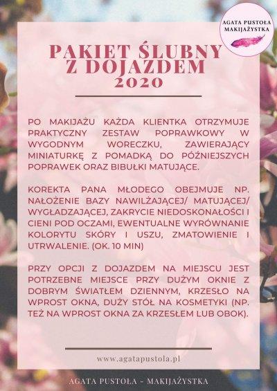 makijaż ślubny z dojazdem Warszawa